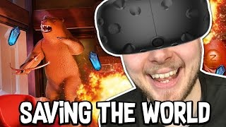 Download SAVING THE WORLD!! - I EXPECT YOU TO DIE!! [Ending] (HTC Vive) Video