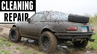 Download Post-Offroading Cleaning & Damage Repair! Video