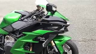 Download 【オートバイ】カワサキ NINJA H2 SX を全方位撮影! Video