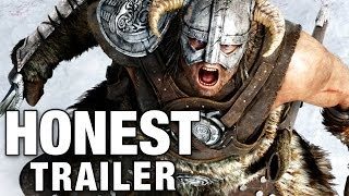 Download ELDER SCROLLS: SKYRIM (Honest Game Trailers) Video