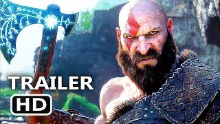 Download GOD OF WAR 4 Official Final Trailer (2018) Action Game HD Video