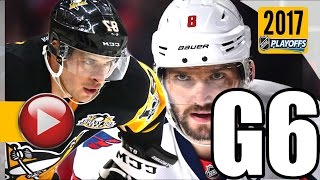 Download Washington Capitals vs Pittsburgh Penguins. 2017 NHL Playoffs. Round 2. Game 6. 05.08.2017 (HD) Video