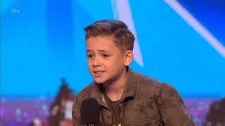 Download Britain's Got Talent 2018 Calum Courtney 10 Year Old Singing Sensation Full Audition S12E01 Video
