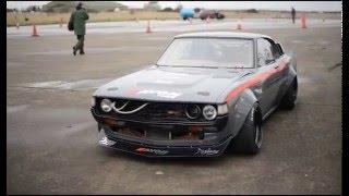Download Marc Huxley SR20 Powered RA28 Toyota Celica Drift Car Video