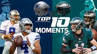 Download Cowboys vs. Eagles: Top 10 Moments in the NFC East Rivalry | NFL Highlights Video