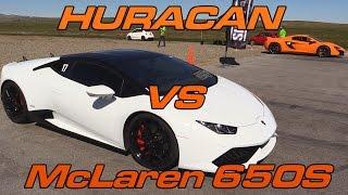 Download Lamborghini Huracan vs McLaren 650S Video