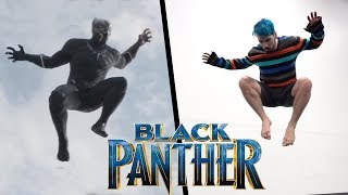 Download Black Panther Stunts In Real Life (Parkour, Tricking, Tumbling) Video