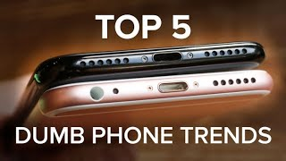 Download The dumbest trends in phones today (CNET Top 5) Video