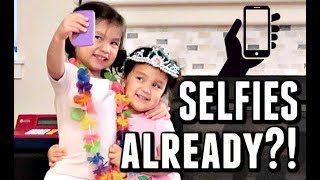 Download THEY'RE ALREADY TAKING SELFIES? - October 09, 2017 - ItsJudysLife Vlogs Video
