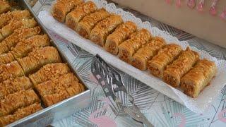 Download حلويات شرقية بقلاوة لذييييييييذة بزآف وسهلة التحضيرbaklava au amande Video