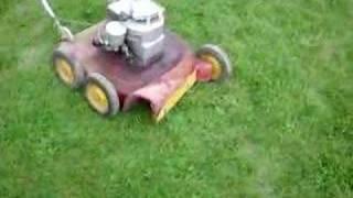 Download old 1959 vintage lawnmower Video