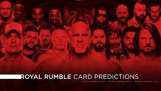 Download WWE Royal Rumble 2017 - Card Predictions Video