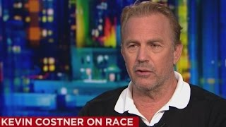 Download Kevin Costner takes on the issue of race in America Video