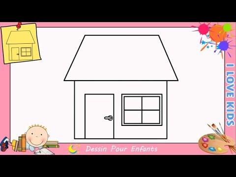 Dessin De Maison Facile D Architecture Facile Construisez La Maison