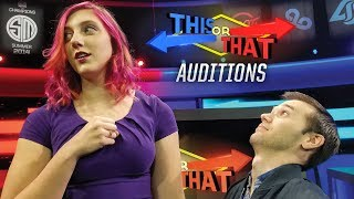 Download This or That Auditions Video