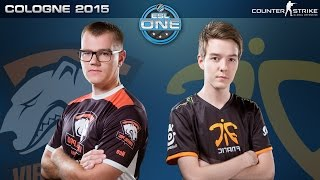 Download CS:GO - Virtus.Pro vs. Fnatic [Mirage] - ESL One Cologne 2015 - Semifinal Map 1 Video