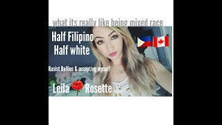 Download What its like growing up mixed race | half Filipino half white Video