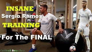 Sergio Ramos Training In The Gym | Professional Soccer