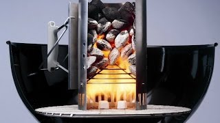 Download How To Start your weber charcoal grill - How To light a barbecue - Chimney Fire Starter Video