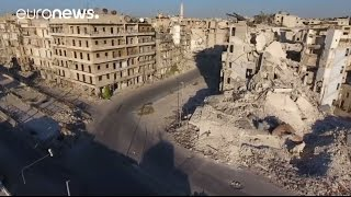 Download Shocking drone footage shows Aleppo destruction Video