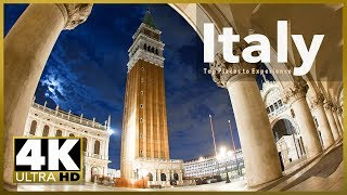Download ITALY top tourist destinations, 4k Ultra HD Stock Video Footage Video