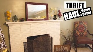 Download Thrift Haul | Home Decor 2016 Video