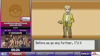 Download Pokémon HeartGold/SoulSilver by Keizaron in 2:36:24 - SGDQ2017 - Part 48 Video