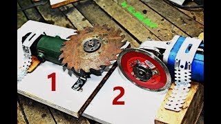 Download Angle Grinder 1 VS Angle Grinder 2 DIY project / HOMEMADE SAW BLADE SHARPENING MACHINE MAKE AT HOME Video