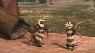 Download Ice Age : Crash and Eddie funny scenes Video