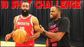 Download Talking Trash To James Harden! - The 10 Shot Challenge Video