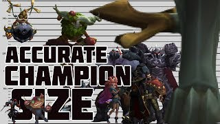 Download Champion Sizes According to Lore Video
