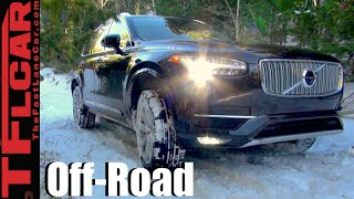 Download 2016 Volvo XC90 T6 Snowy Off-Road Review: Will it Go in the Snow? Video