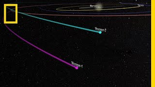 Download See Two Spacecraft Journey to Outer Reaches of Solar System   National Geographic Video