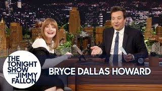 Download Jurassic World's Bryce Dallas Howard Makes Animal Noises to Create Dinosaur Roars Video