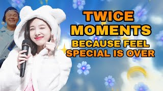 Download TWICE moments because feel special is over Video