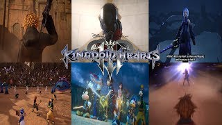 Download Kingdom Hearts 3 - All Trailers(2013-2018) [NEW] Video