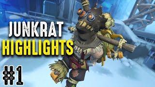 Download Overwatch | MisterHeartz Junkrat Highlights #1 Video