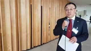 Download UN-Oceans meeting - Interview with Wenjian Zhang Video