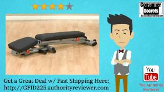 Download [Review & SALE] Body Solid GFID225 Folding Adjustable Weight Bench Video