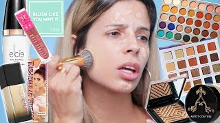 Download FULL FACE USING ONLY BEAUTY GURU'S COLLABS & BRANDS! Video