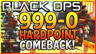 Download Black Ops 4: ″999-0 HARDPOINT COMEBACK WIN!″ - Team Challenge #9! (GREATEST COMEBACK IN COD HISTORY) Video