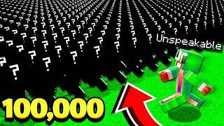 Download UNSPEAKABLE VS. 100,000 MINECRAFT Video