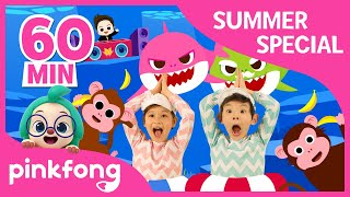 Download Baby Shark Dance and more | Summer Songs Special | +Compilation | Pinkfong Songs for Children Video
