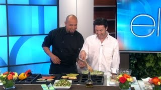 Download Exclusive! Chef Roberto Cooks with Andy Video