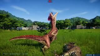 Download Jurassic World Evolution Deinonychus vs Hadrosaurs Video