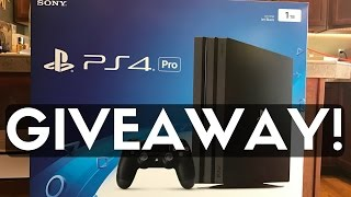 Download The ULTIMATE PS4 PRO Giveaway! FOUR WINNERS! Video