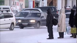 Download Walking in Yakutsk - Oymyakon, Siberia, Yakutia, Russia at –50C (December 2014) Video