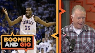 Download Will Kevin Durant Stay with the Golden State Warriors? | Boomer and Gio Video