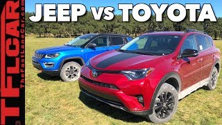 Download What's Better Off-Road: 2018 Jeep Compass Trailhawk vs Rav4 Adventure? Video