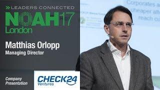 Download Matthias Orlopp, Check24 Ventures - NOAH17 London Video